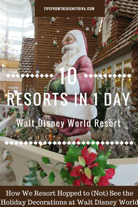 how we visited 10 walt disney world resorts in 1 day to not see decorations tips