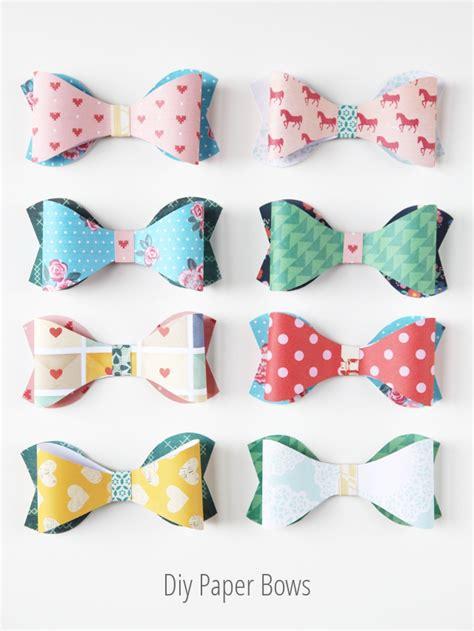 Diy Paper - diy paper bows gathering