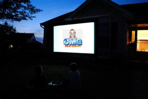 backyard home theater for your viewing pleasure in the
