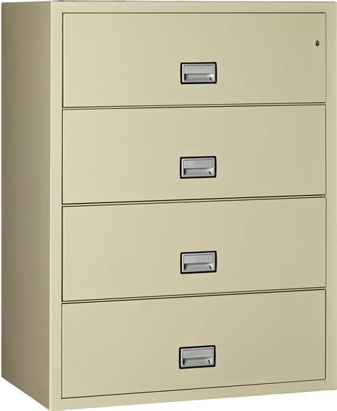 lat4w44 lateral 44 inch 4 drawer fireproof file