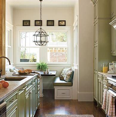 galley kitchen with breakfast nook nook a galley kitchen inspiring spaces