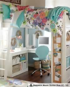 Pottery Barn Teen Duvet Study Area Loft Teenage Bedroom Idea Simone Zelne