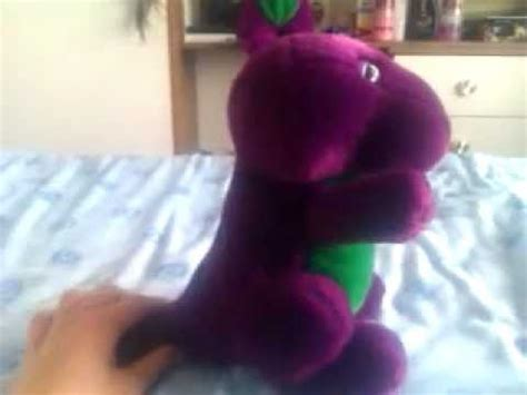 backyard gang barney doll my big barney doll collection from 1990 2011 how to make