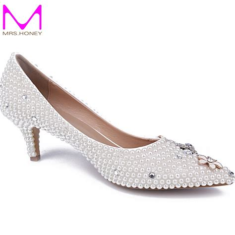 middle heel comfortable shoes pointed toe prom shoes