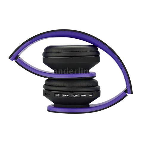 Bluetooth Headphone Wireless 5 In 1 Radio Fm Receiver Limited 4 in1 wireless bluetooth stereo headset headphone fm radio mp3 player sd tf q6r5 ebay