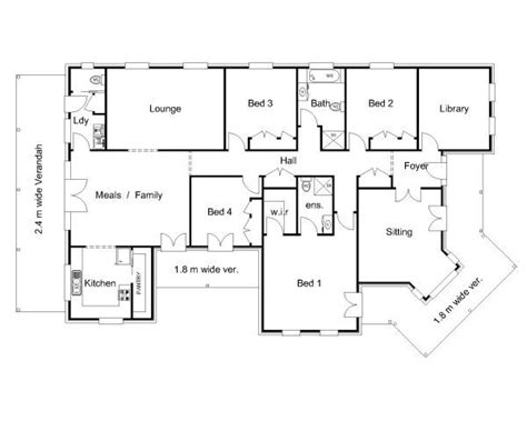 australian house floor plans the 25 best australian house plans ideas on pinterest