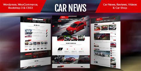 newspaper theme shop car news blog reviews shop by pixarwpthemes themeforest
