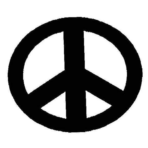 peace sign template peace sign stencils clipart best