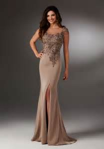 silky crepe evening gown style 71511 morilee