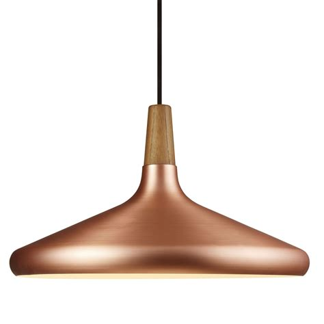 large copper pendant light nordlux float large pendant light in copper next day