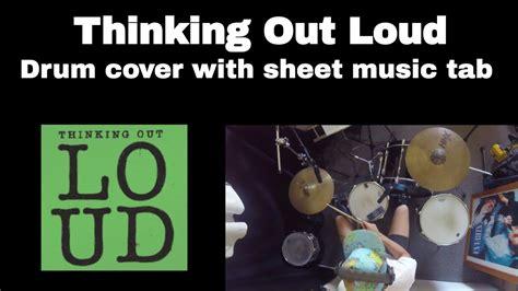 drum tutorial thinking out loud ed sheeran thinking out loud drum cover with sheet music