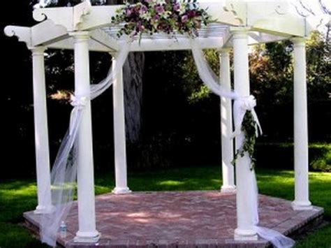 gazebo decorations wedding gazebo decorations 28 images gazebo alter for