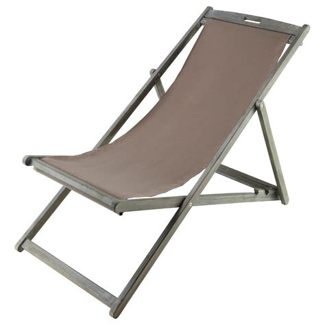 Chaise Longue Chilienne by Chaise Longue Chilienne Pliante En Acacia Gris 233 E L 111