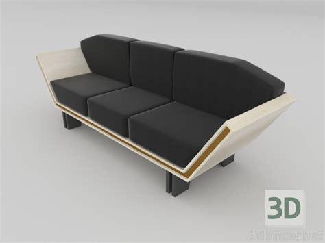 3d Model Modern Sofa Model Sofa Modern