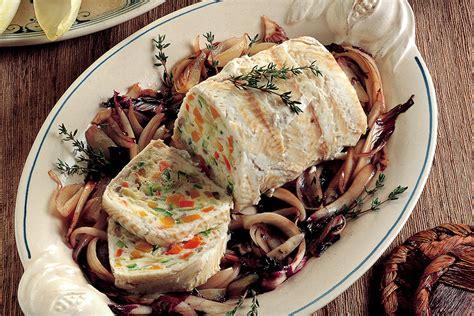 cucinare sogliola per bambini ricetta terrina di sogliola e verdure la cucina italiana