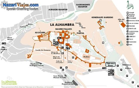 Alhambra Plan by Alhambra Granada Spain Plan Www Pixshark Images