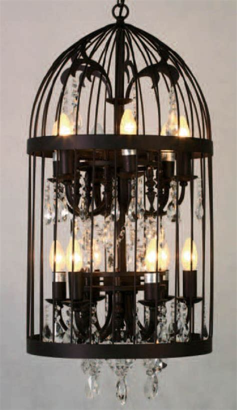 Bird Cage Chandelier Bird Cage Chandelier Lighting Pinterest Bird Cages Birds And Ps