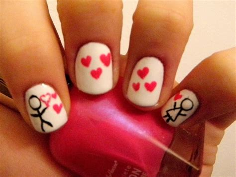 pictures of nail designs for valentines day magnificent valentine s day nail designs