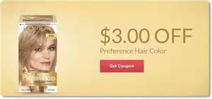 loreal hair color codes loreal preference coupons gordmans coupon code