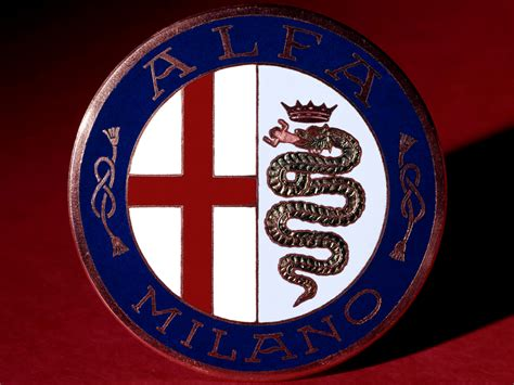 alfa romeo emblem alfa romeo logo wallpapers cool cars wallpaper