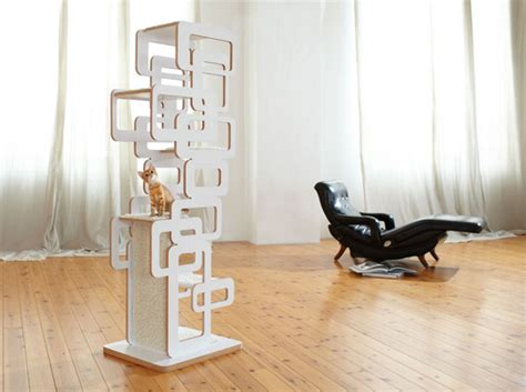 german designer cat trees from wohnblock hauspanther
