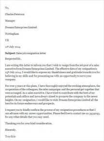 Manager Resignation Letter Sle by Sle Resignation Letter Template 14 Free Documents In Word Pdf