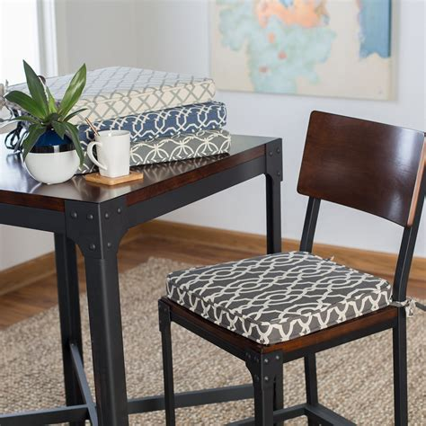 dining room chair cushions sale belham living printed indoor dining chair cushion dining