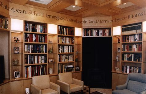 Home Library Study Room Design Library Design