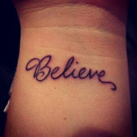side wrist tattoo designs best 20 believe tattoos ideas on