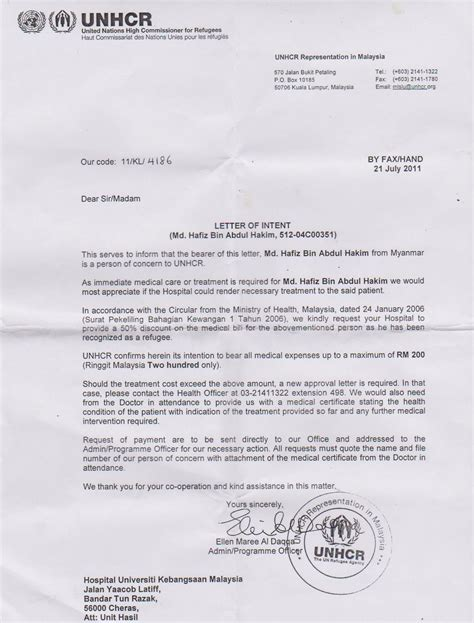 Sle Support Letter For Refugee Unhcr Malaysia Reluctant To Serve The Cause Of Genuine Rohingya Refugees The Sail