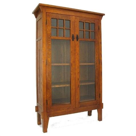 Decorative Bookcase 4 Shelf Barrister Bookcase In Oak 9017