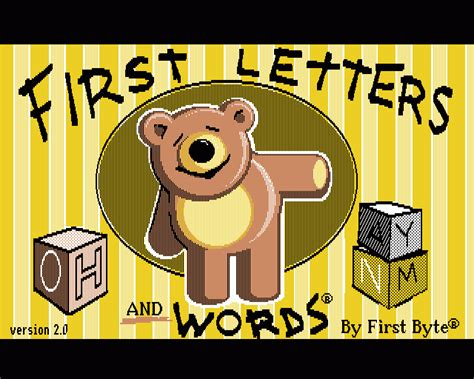emuparadise letters first letters and words rom