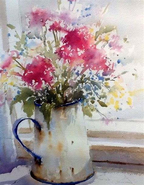 watercolor tutorial pinterest 700 best art watercolor flowers images on pinterest
