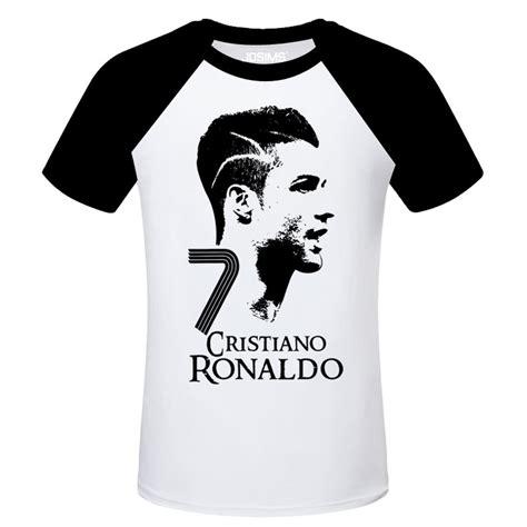 Messi Goal Raglan 2016 summer world cup cristiano ronaldo men s t shirt
