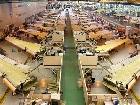 in the uk airbus broughton facility in the uk completes wing assembly for the entire