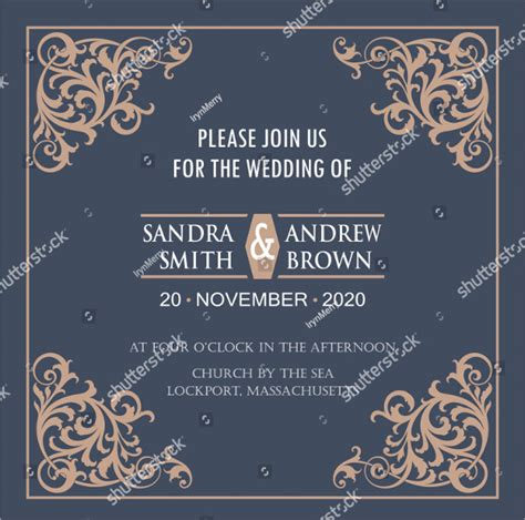 Wedding Anniversary Card Template by 21 Anniversary Invitation Card Templates Free Premium
