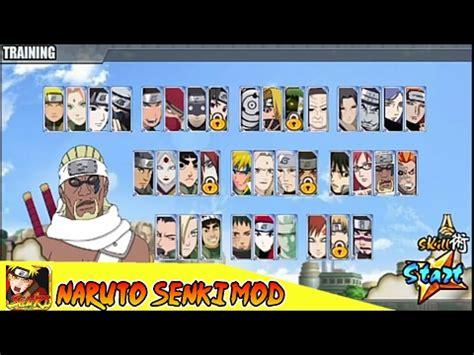 Mod Game Naruto Shippuden Senki | naruto senki mod naruto shippuden ultimate ninja storm v1