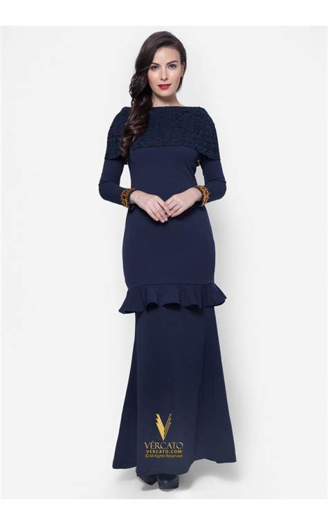 Maxi Dress Dress Baju Wanita Alona Dress Navy Murah Terbaru best 25 baju kurung ideas on baju raya draped skirt and maxi skirts
