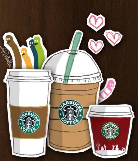 wallpaper coffee cartoon starbucks images starbucks cartoon wallpaper and