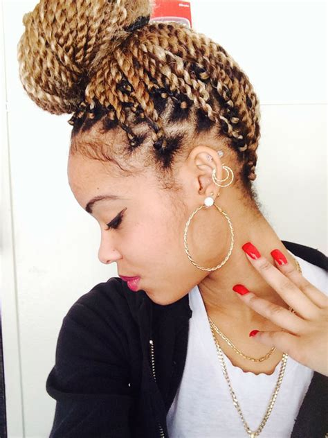 blonde hairstyles braids box braided hairstyles for black women 15 inventive box