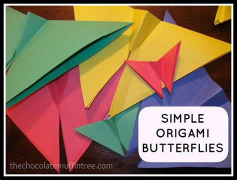 Simple Origami For Kindergarten - 174 best images about caterpillar butterfly unit study on