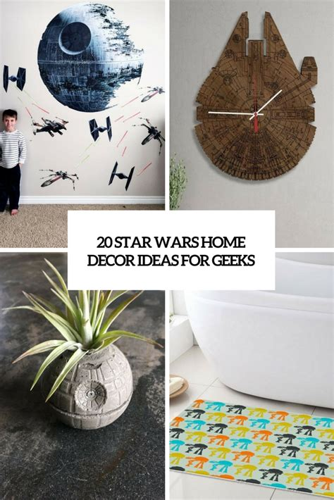 star wars home decorations 20 star wars home d 233 cor ideas for geeks shelterness