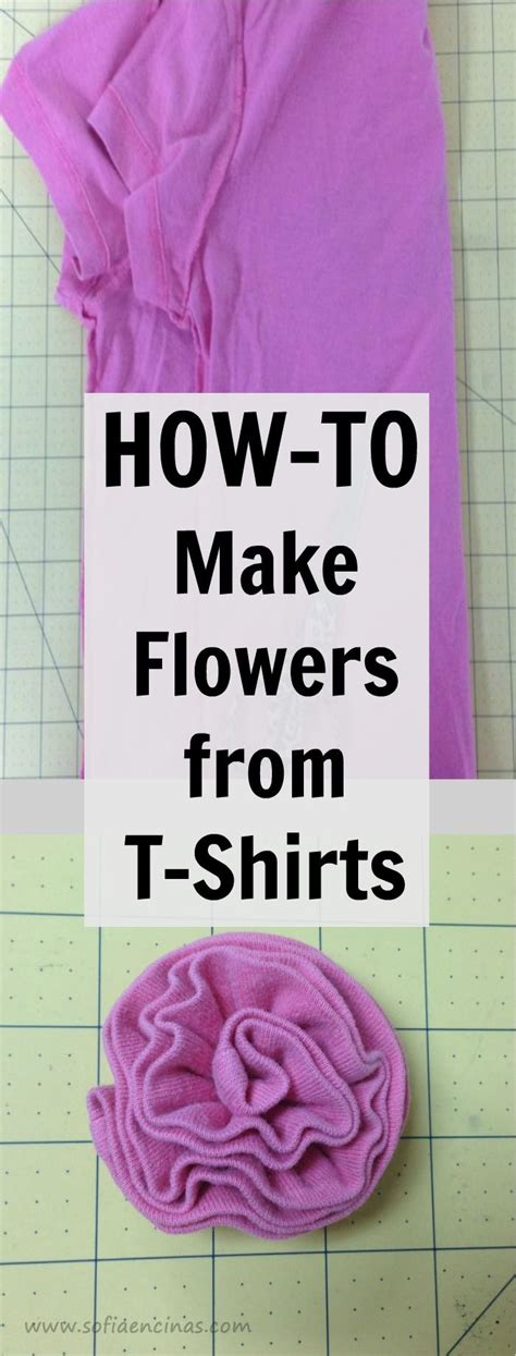 How To Make A T Shirt Out Of Paper - best 20 t shirt flowers ideas on t shirt