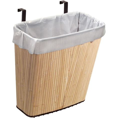 Waste Basket Cabinet by The Cabinet Waste Basket Bamboo In Cabinet Trash Cans