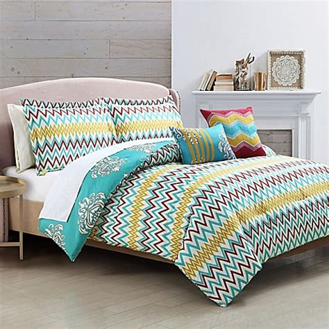reversible comforter twin nobu 5 piece reversible comforter set bed bath beyond