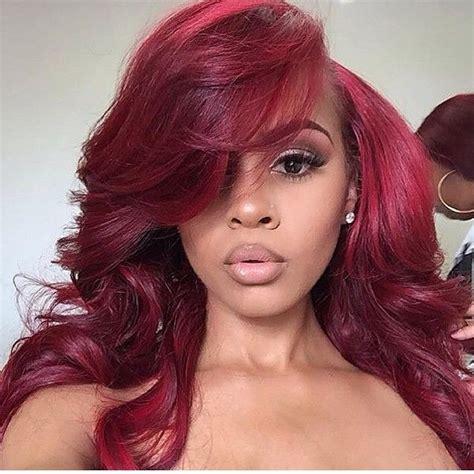 black hairstyles red hair black women red hair color www pixshark com images