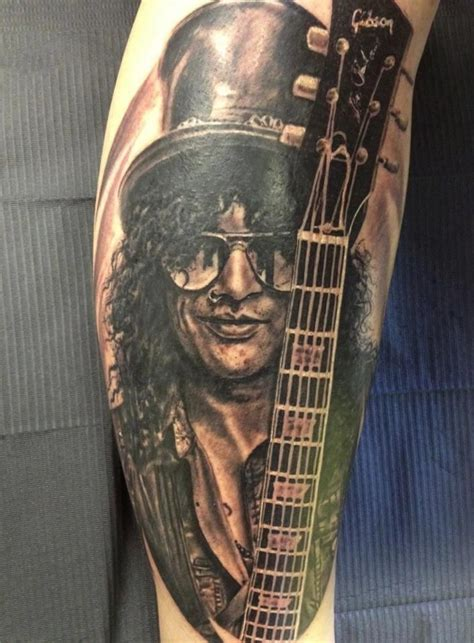 gun n roses tattoo slash guns n roses ideas