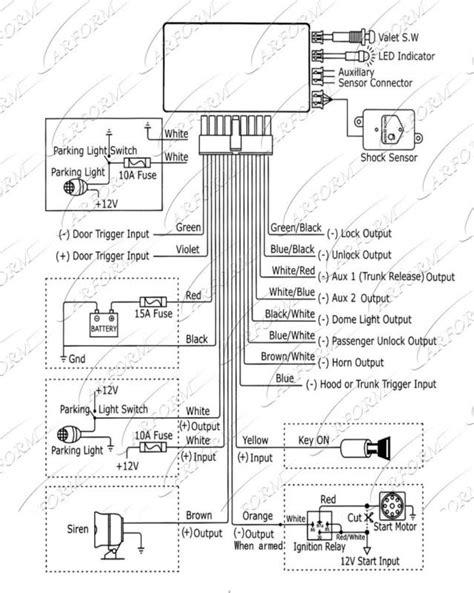 alpine car alarm wiring diagram free wiring