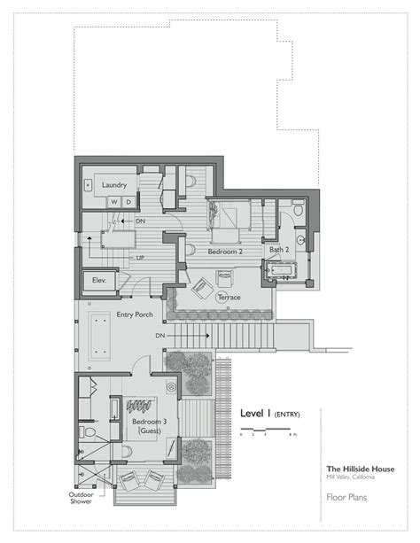 house plan architects gallery of hillside house sb architects 17