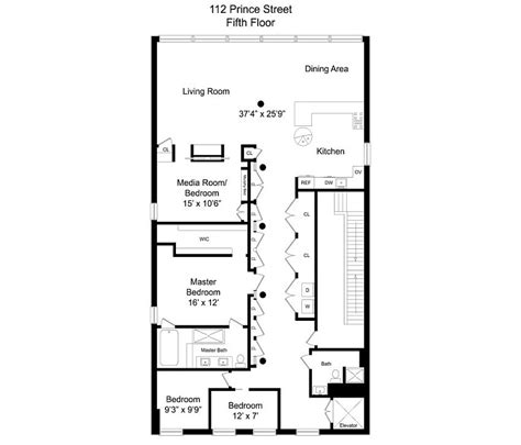 and the city apartment floor plan cozy new york city loft enthralls with an eclectic interior wrapped in brick best of interior
